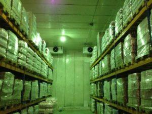 Холодильный склад, воздухоохладитель потолочный