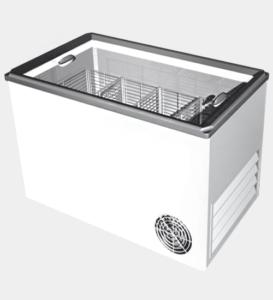 Холодильный ларь для хранение замороженных продуктов
